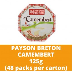 JG Pb Camembert 125g (48 packs per carton)