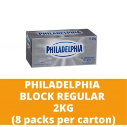 JG Philadelphia Block Regular 2kg (8 packs per carton)