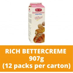 JG Rich Bettercreme 907g (12 packs per carton)