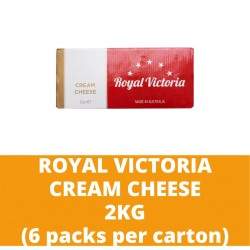 JG Royal Victoria Cream Cheese 2kg (6 packs per carton)