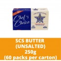 JG Scs Unsalted Butter 250g (60 pieces per carton)