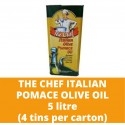 JG The Chef Italian Pomace Olive Oil 5L (4 bottles per carton)