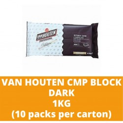 JG Van Houten Dark Compound Block 1kg (10 packs per carton)