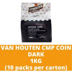 JG Van Houten Dark Compound Coin 1kg (10 packs per carton)