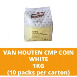 JG Van Houten White Compound Coin 1kg (10 packs per carton)