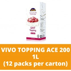JG Vivo Topping Ace 200 1L (12 packs per carton)