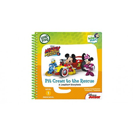 LeapFrog Leapstart Book : Disney Mickey and The Roadster Racers Pit Crew