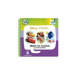 LeapFrog LeapStart Book, Disney Pixar Math In Action