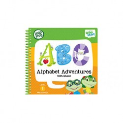 LeapFrog LeapStart Book, Alphabet Adventures