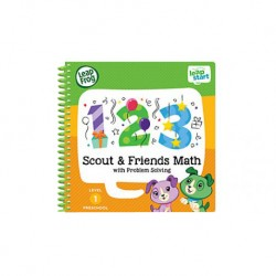 LeapFrog LeapStart Book : Scout and Friends Math