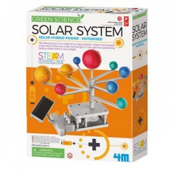 4M Green Science Motorised Solar System