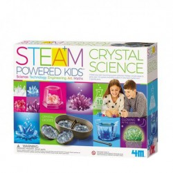 4M STEAM Crystal Science