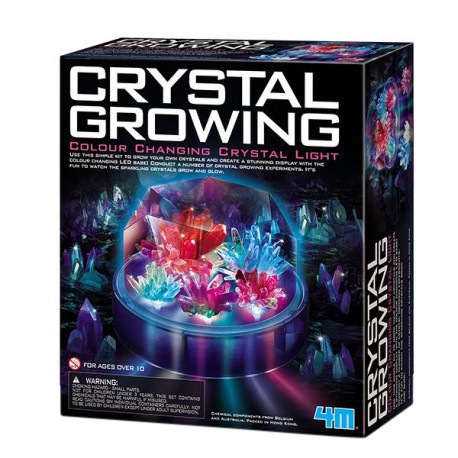 4M Crystal Growing Color Changing Display