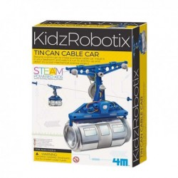 4M Kidz Robotix Tin Can Cable Car