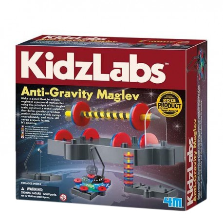 4M Kidz Labs Anti Gravity Maglev