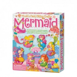 4M Mould and Paint Glitter Mermaid
