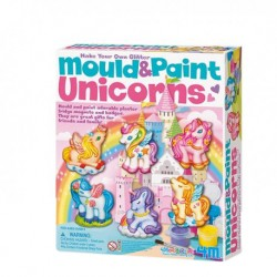 4M Mould and Paint Glitter Unicorns
