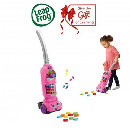 LeapFrog Pick Up and Count Vacuum (Pink)