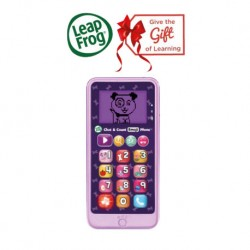 LeapFrog Chat and Count Emoji Phone (Violet)