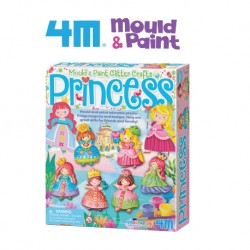 4M Mould and Paint Glitter Princess