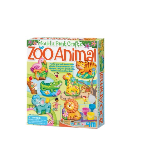 4M Mould & Paint (Zoo Animal)