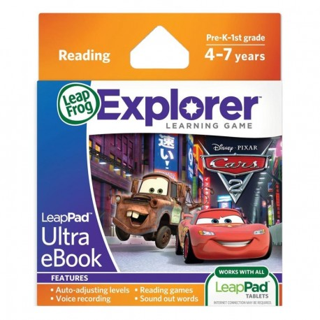 LEAPPAD EXPLORER SW, DISNER-PIXAR CARS 2 ULTRA EBOOK