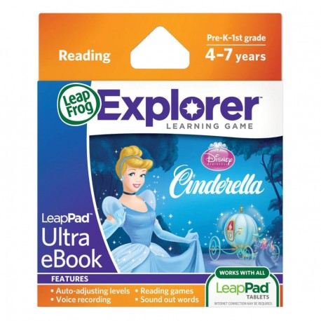 LEAPPAD EXPLORER SW, DISNEY, CINDERELLA ULTRA EBOOK