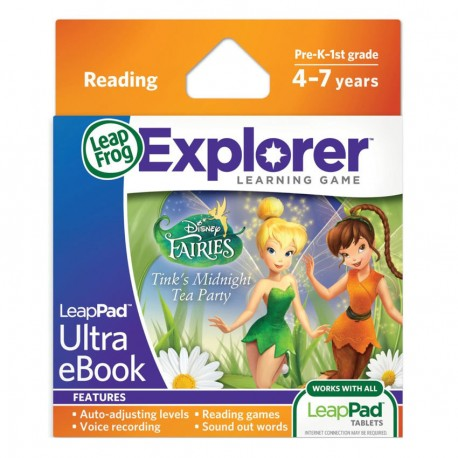 LEAPPAD EXPLORER SW, FARIES ULTRA EBOOK