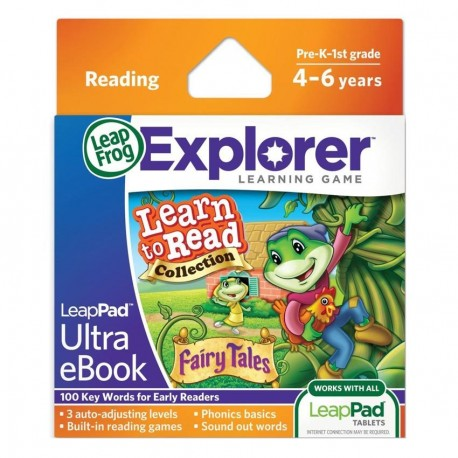 LEAPPAD EXPLORER SW, LEARN TO READ VOL 1 ULTRA EBOOK - FAIRY TALES