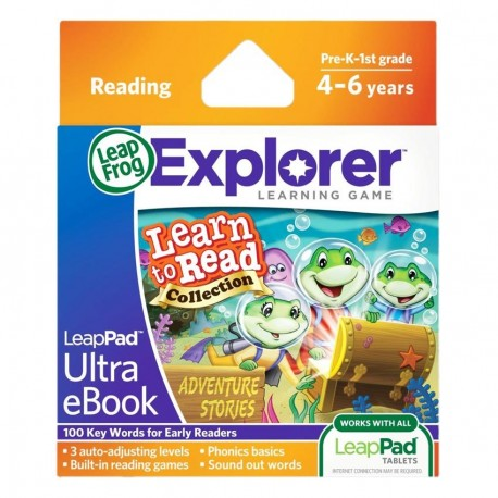 LEAPPAD EXPLORER SW, LEARN TO READ VOL 2 ULTRA EBOOK - ADVENTURE STORIES