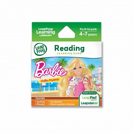 LEAPFROG LEARNING SW, BARBIE MALIBU MYSTERIES, LEARNING GAME