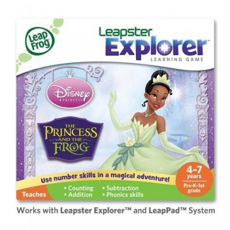 LEAPSTER EXPLORER SW,  PRINCESS & THE FROG