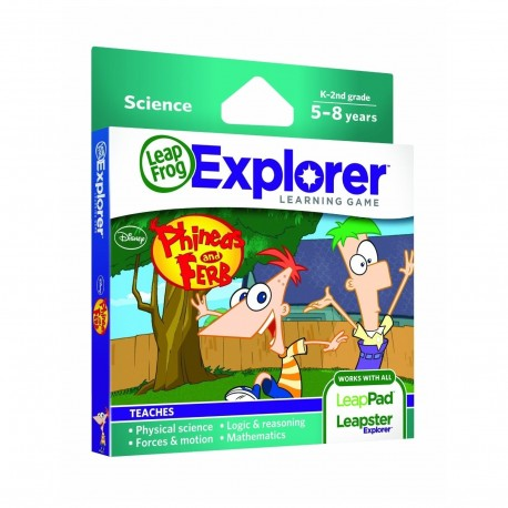 LEAPSTER EXPLORER SW, PHINEAS & FERB