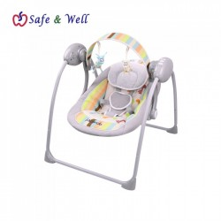 Jitron Dazzle Electric Baby Swing - Grey