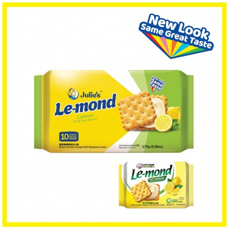 Julie's Le-Mond Lemon Cream (170g x 1 pack)