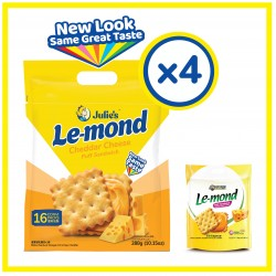 Julie's  Le-mond Cheddar Cheese (288g x 4 packs)