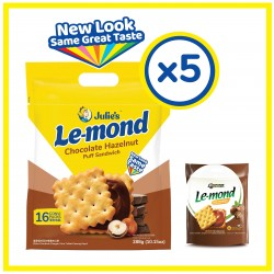 Julie's  Le-mond Choc Hazelnut (288g x 5 packs)