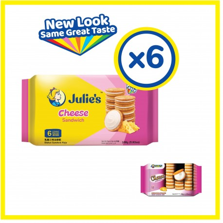 Julie's Cheese Sandwich (168g x 6 packs)
