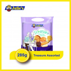 Julie's Treasure Assorted Biscuits (285g x 1 pack)