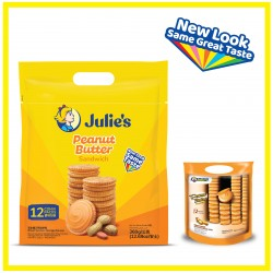 Julie's Peanut Butter Sandwich (360g x 1 pack)