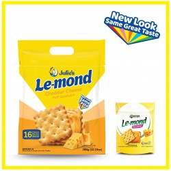 Julie's Le-mond Cheddar Cheese (288g x 1 pack)
