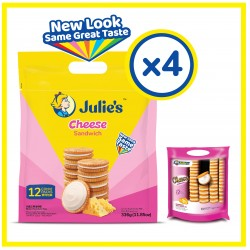 Julie's Cheese Sandwich (336g x 4 packs)