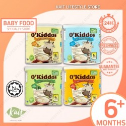 O'Daily O'Kiddos 4 Colour Bario Rice Porridge - 6m+ (220g x 2) [Double Combo] [HALAL]
