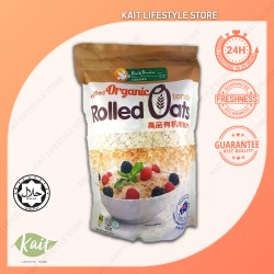 Health Paradise Organic Rolled Oats (500gmx3) [Trio Combo]
