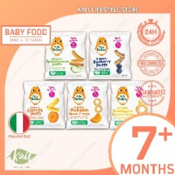 Little Bellies Organic Superfood Baby Puffs (12g x 5) Super Combo