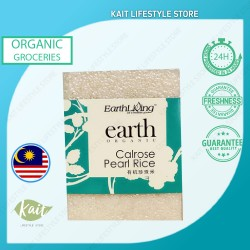 Earth Living Organic Calrose Pearl Rice (1kg x 2) - Double Combo