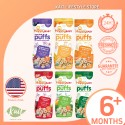 Happy Baby Organic Superfood Puffs - 7m+ (60g x 6) [Super Combo]