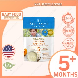 Bellamy's Organic Pumpkin Baby Rice (125g x 2) [Double Combo]