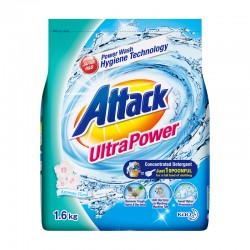 Attack Ultra Power Concentrate Detergent Powder (ATK) (1600g)