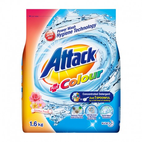 Attack Colour Concentrate Detergent Powder (ATC) (1600g)